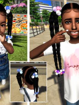 Ebonix | Lil KiKi & Lil Keisha  Twists