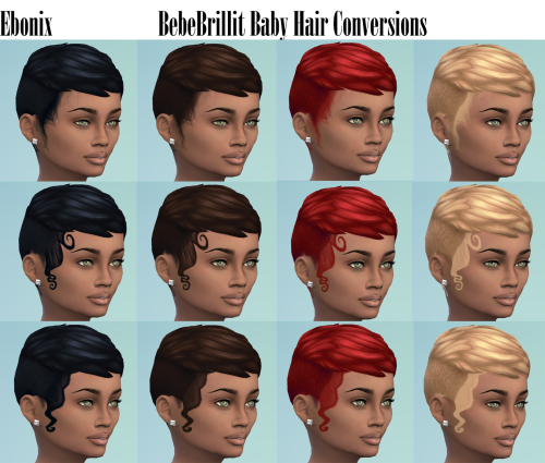 Ebonix | Bebebrillit Baby Hairs Child & Male Conversion