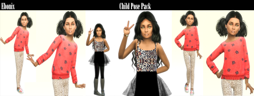 Ebonix | Child Pose Pack