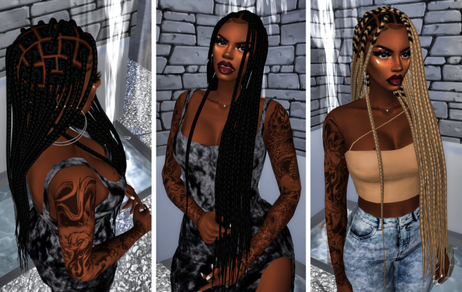 Ebonix| Shauna Box Braids