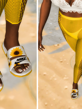 Ebonix | 🌻 Nike Sunflower Sliders 🌻