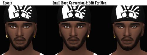 Ebonix   Small Hoops