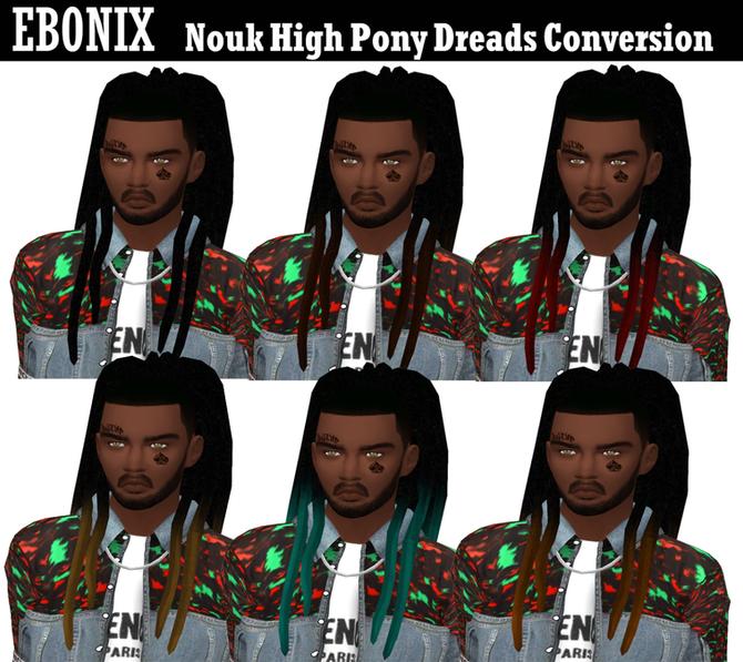 Ebonix | Nouk High Pony Dreads