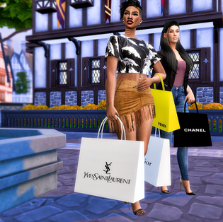 Ebonix | Retail Therapy: Collab Gift with iWikedSimblr