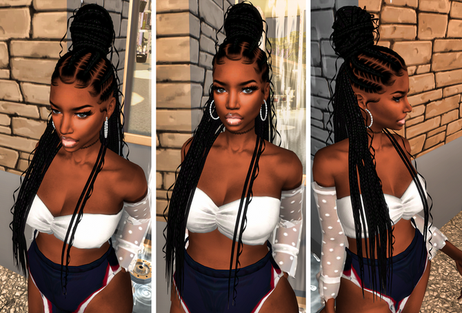 Ebonix | Keturah Braid Bun
