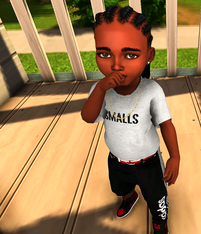 Ebonix | Parenthood Cornrows