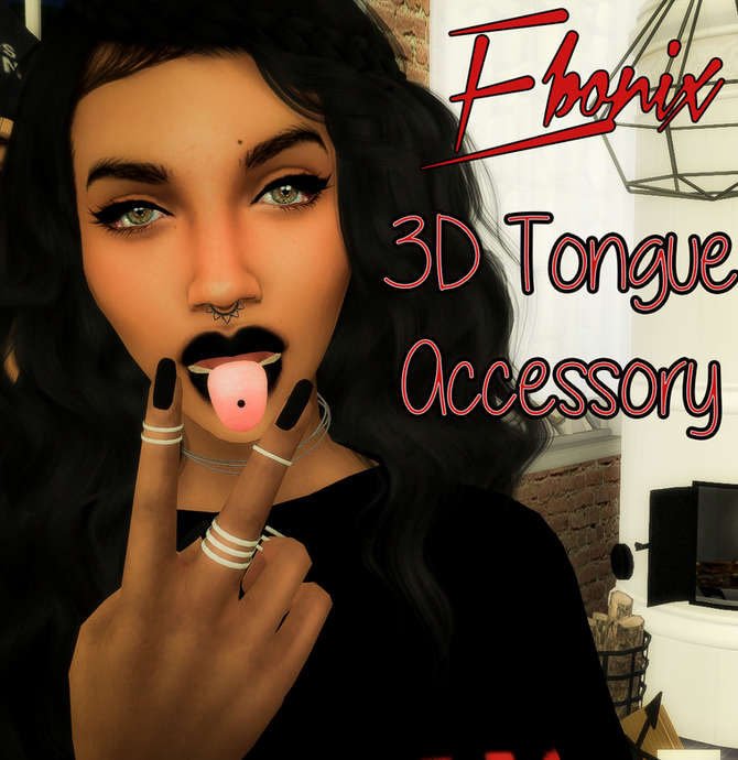 Ebonix | 3D Tongue Accessory