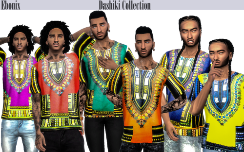 Ebonix | TS4 Male Dashiki