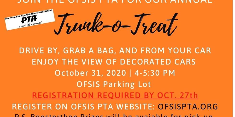 Annual Trunk-o-Treat Registration