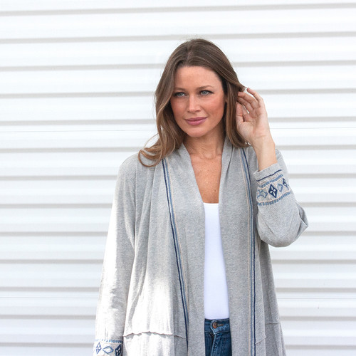 Caite Reese Jacket in Heather Grey | Fall 2020