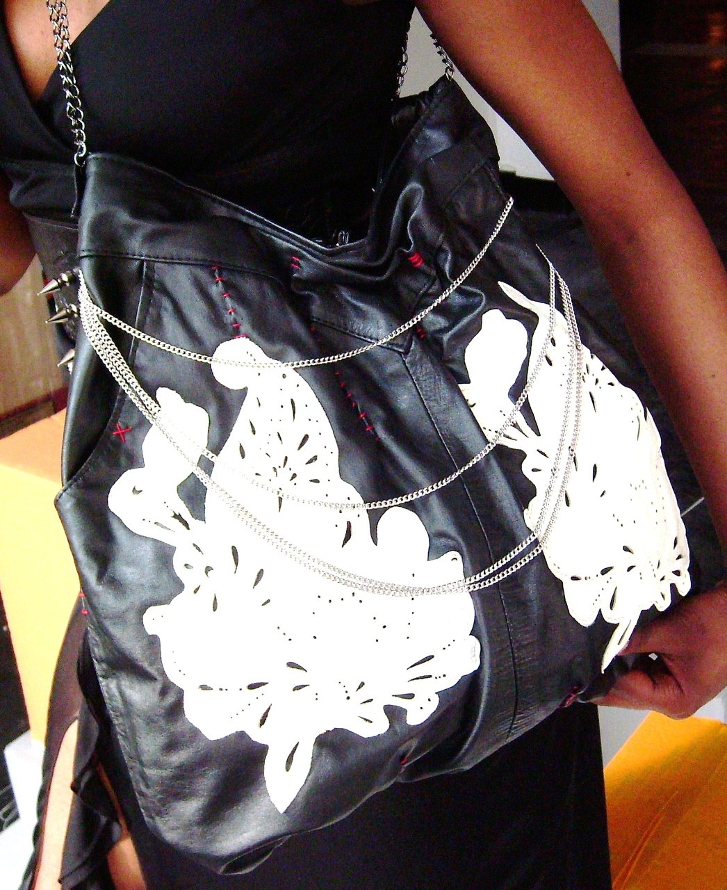 Rockgoddess leather bag