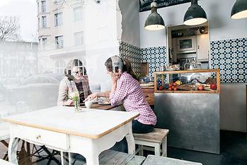 Women at a resaurant