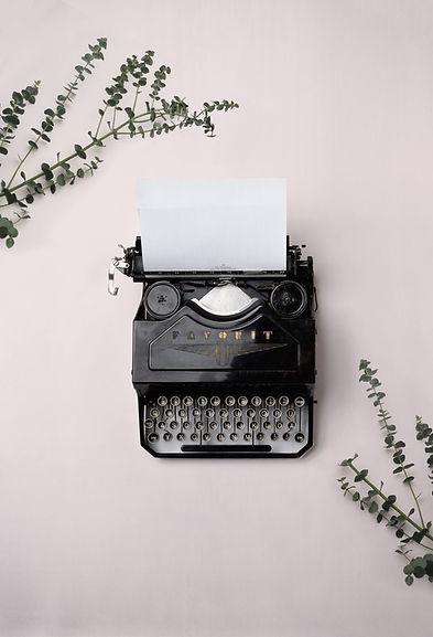 Máquina d escribir contacto
