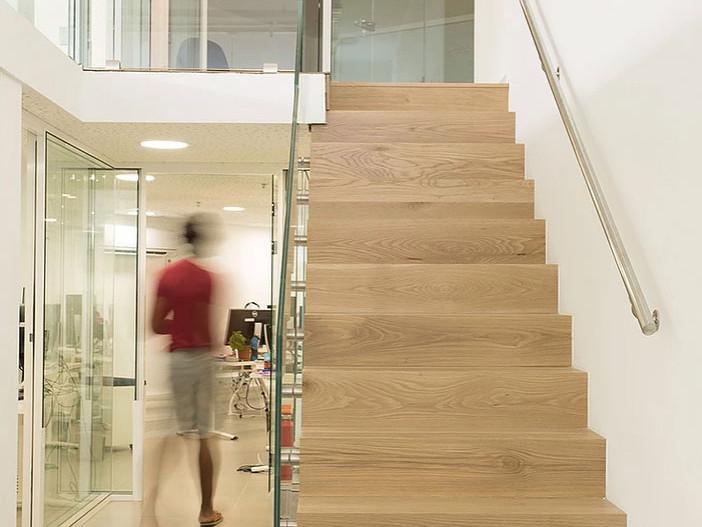 Office stairwell