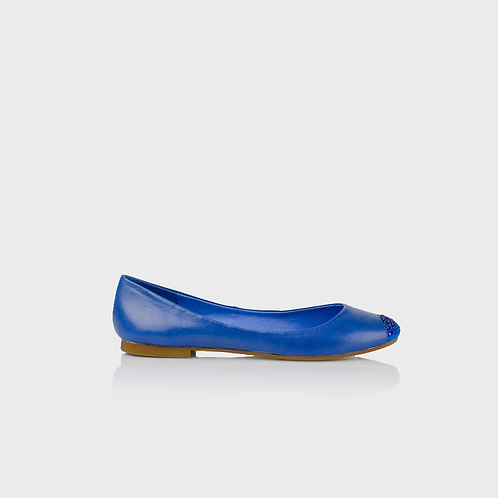 Ladies - Blue Ballet Pumps