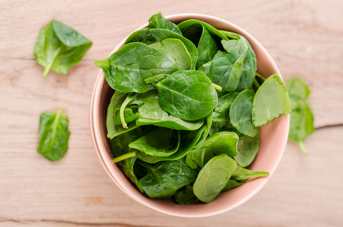Every Month is Spinach Month at Raw from the Garden!