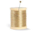 Spool of Gold Thread