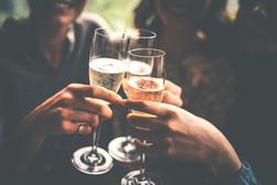 Konrad Company Cheers Champagne