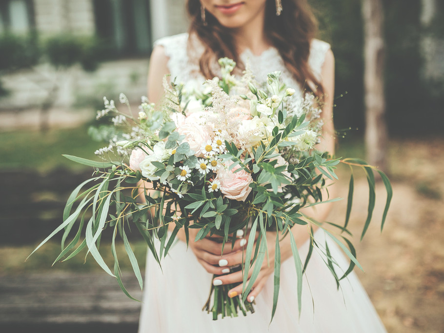 Beautiful Rustic Wedding Bouquet