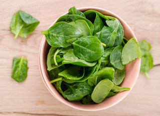 It's spinach month at Cocolo!
