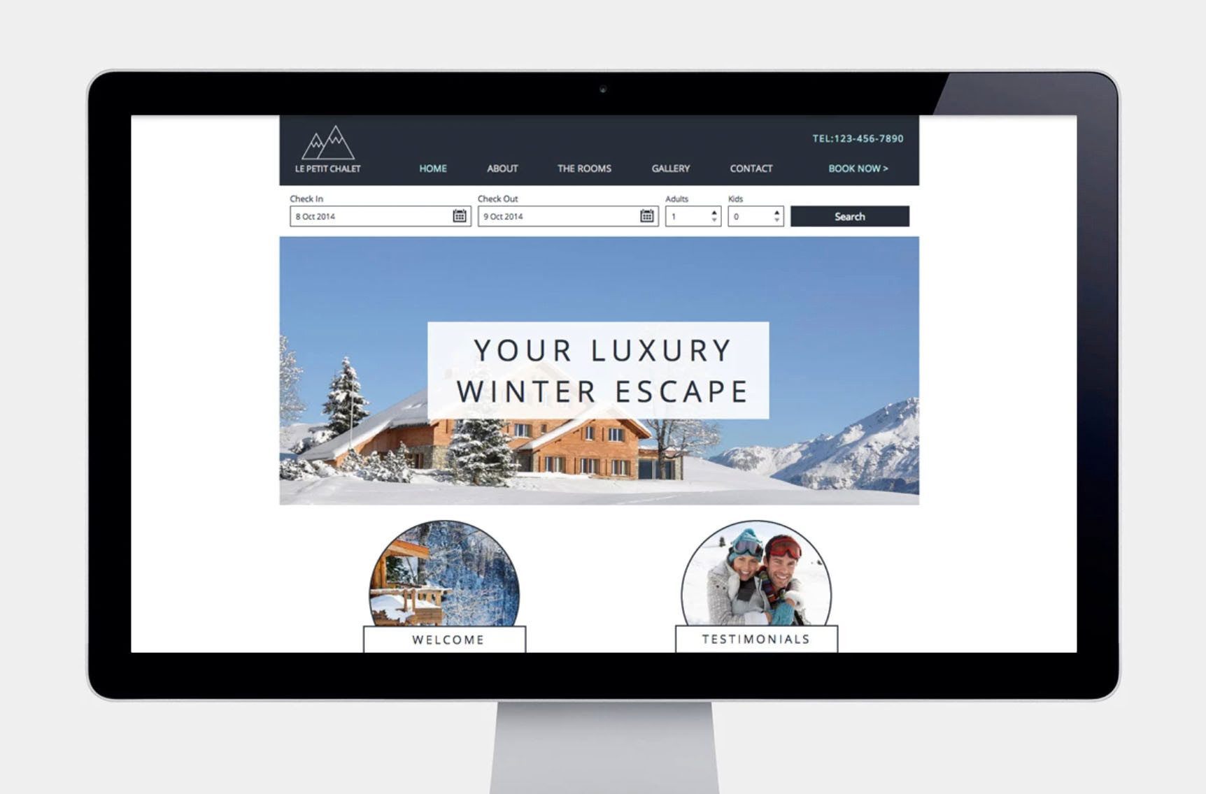 Ski Resort Mobile Website