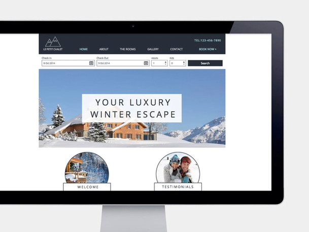Ski Resort Mobile Website