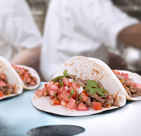 Tortillas ready to be served