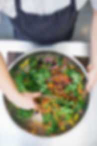 Reservoir Dogs Food salade fraîche