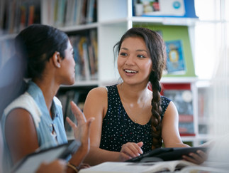 Students can earn community service credit as an online tutor (volunteer) for the Homework Hotline