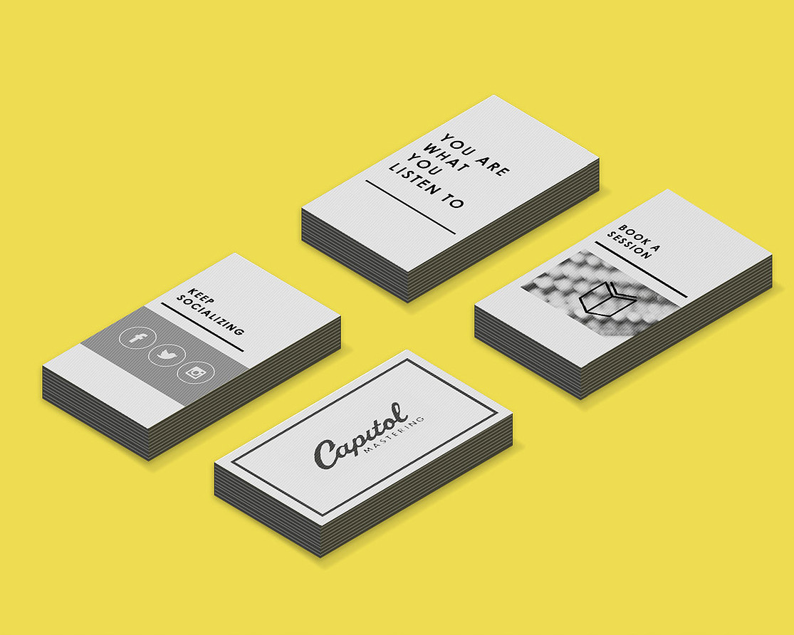 Capitol Brand Business Cards