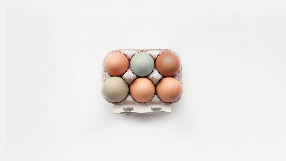 6 Organic Eggs