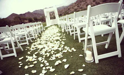 Wedding Day Chairs!