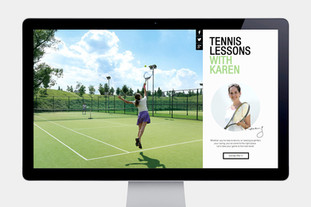 Tennis Lessons Website