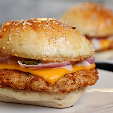 Hot Chicken Burger