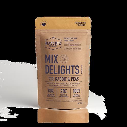 Mix Delights -Rabbit & Peas