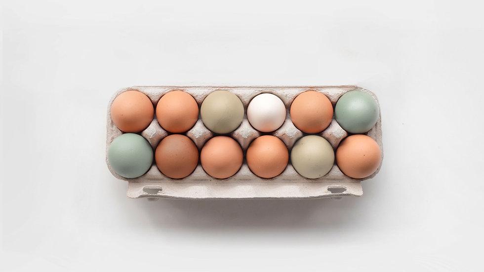 12 Organic Eggs