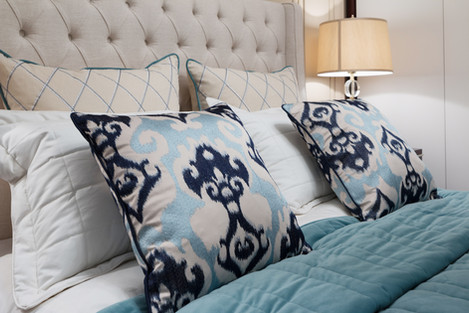 Exquisite bedding and linens