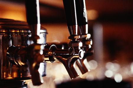 Beer on tap at Santa Maria BBQ shack