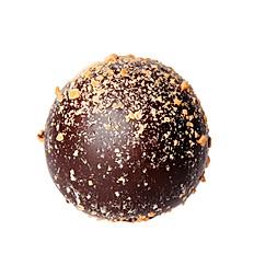 Dark Chocolate Peanut Truffles