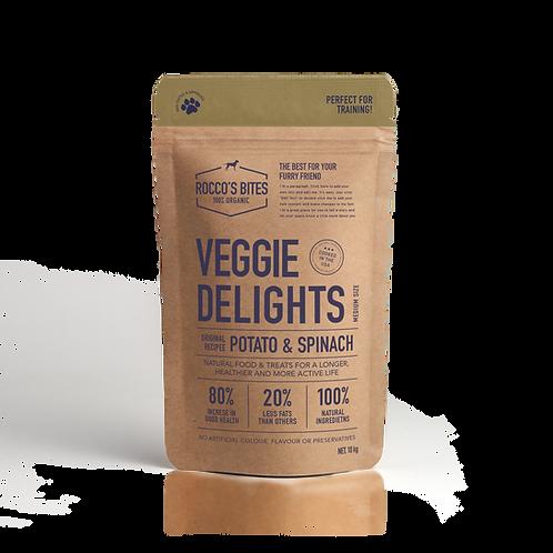 Veggie Delights - Potato & Spinach