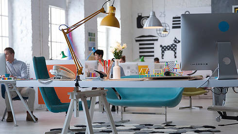 Open Space - Private Desk or Hot Desk