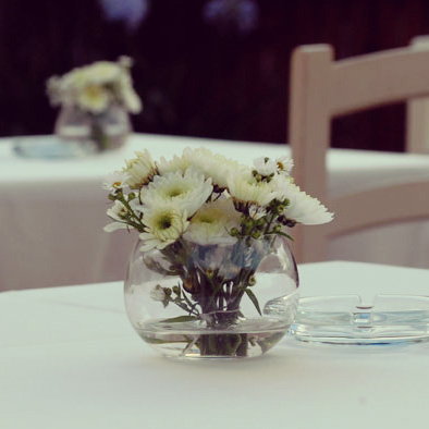 Simple Flower Centerpiece