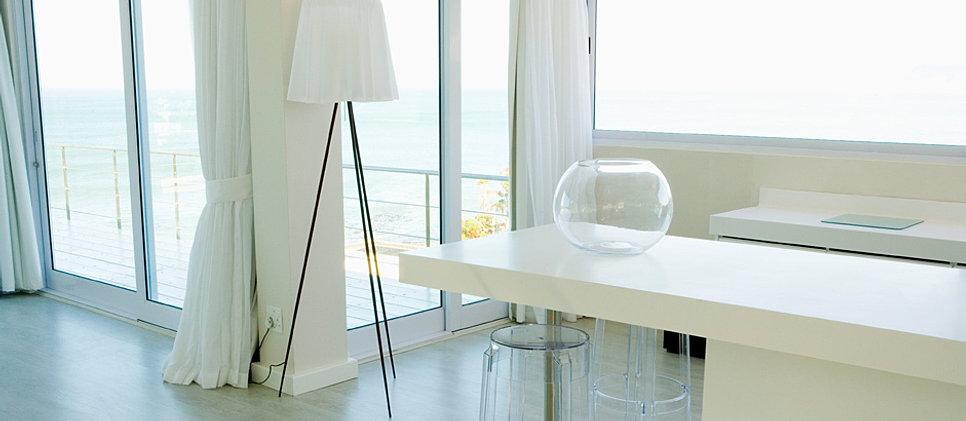 Azevedo decor pisos papel de paredes cortinas e persianas for Pisos laminados homecenter