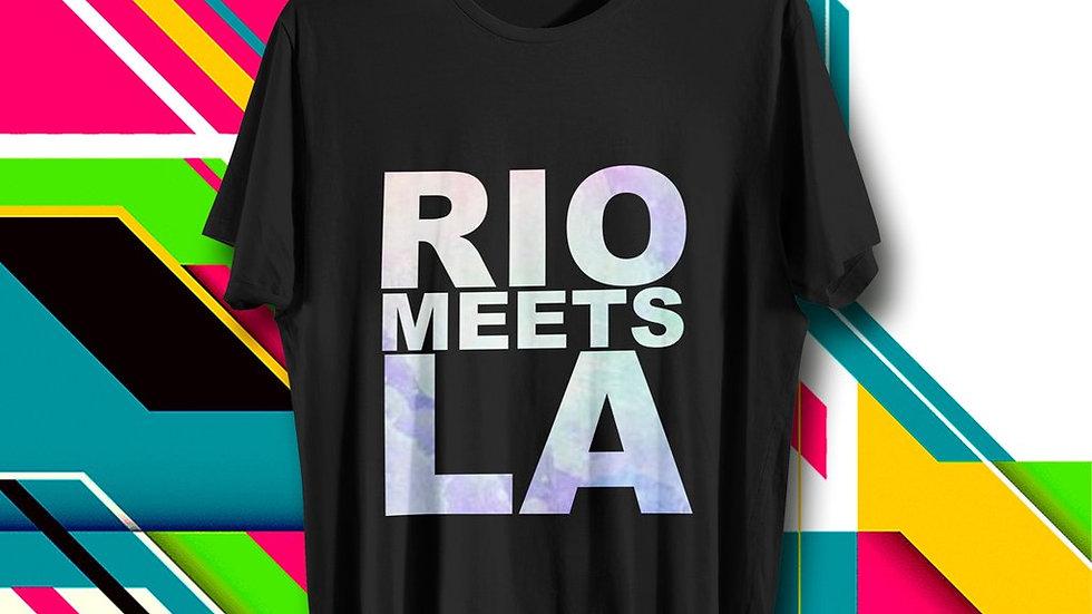Rio Meets LA | OFFICIAL T-Shirt| Favela 11:11