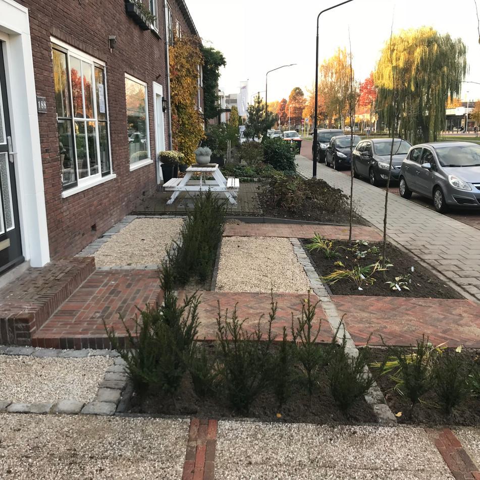 Klassiek Hollandse voortuin Alblasserdam 6