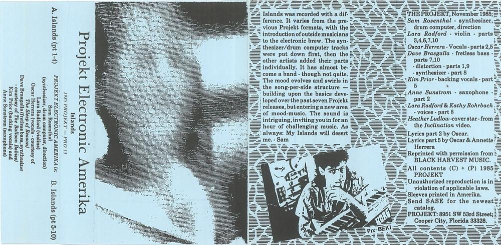 Projekt Electronic Amerika, Islands, 1985