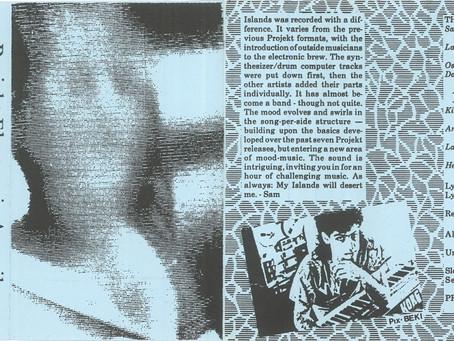 Projekt Electronic Amerika - Islands (1985)