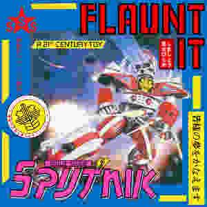 sigue sigue sputnik, flaunt it, 1986, front, cover