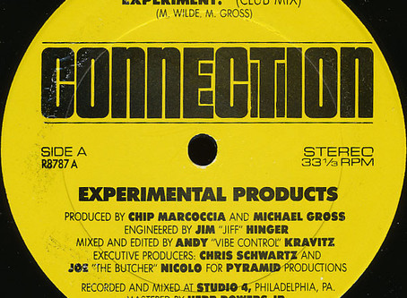 Experimental Products - Experiment! 12'' (1987)