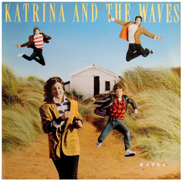 katrina and the waves, waves, 1986, front, cover